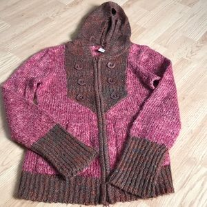 BKE Women's sweater cardigan size medium